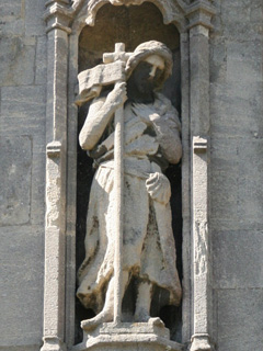 Statue of St John The Baptist